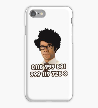 Maurice Moss - 0118 999 881 999 119 725 3 iPhone Case/Skin