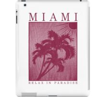 Miami. iPad Case/Skin