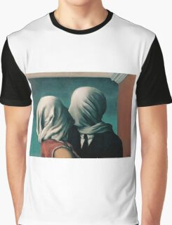 The Lovers by Rene Magritte Graphic T-Shirt