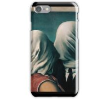 The Lovers by Rene Magritte iPhone Case/Skin