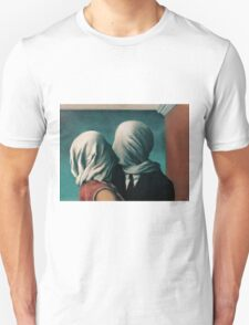 The Lovers by Rene Magritte Unisex T-Shirt