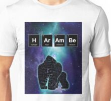 Harambe Science Print Unisex T-Shirt