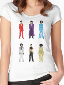 Retro Vintage Fashion 18 Women's Fitted Scoop T-Shirt