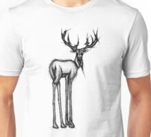 Scary Stag Unisex T-Shirt