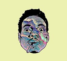 Chance The Rapper Galaxy Face II by coolGEORGE