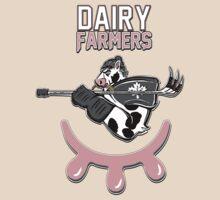 Dairy Farmers by pixelshark