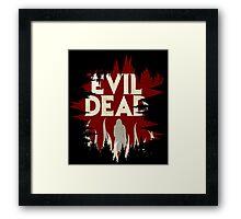 Evil Dead Poster Framed Print