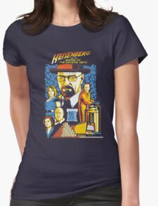 Heisenberg and the Empire of the Crystal Meth Womens Fitted T-Shirt