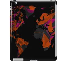 World map composition iPad Case/Skin