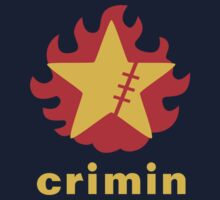 Crimin Brand Fire Star by Crocktees