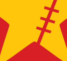 Crimin Brand Fire Star Sticker