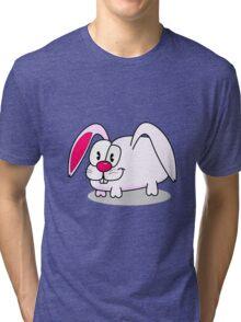 Funny rabbit Tri-blend T-Shirt