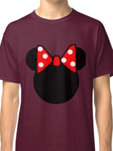 Minnie Mouse head Classic T-Shirt