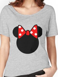 Minnie Mouse head Women's Relaxed Fit T-Shirt