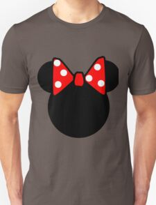 Minnie Mouse head Unisex T-Shirt