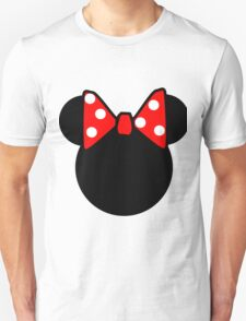 Minnie Mouse head Unisex T-Shirt