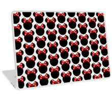 Minnie Mouse head Laptop Skin