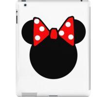 Minnie Mouse head iPad Case/Skin