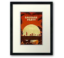 Sausage Party Framed Print