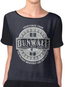 Greetings from Dunwall Chiffon Top
