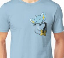 Shinx Sleeping in Pocket Unisex T-Shirt