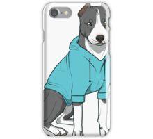Bully in a Hoodie (Blue) iPhone Case/Skin