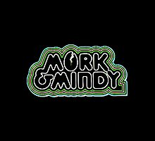 Mork and Mindy by atomtan