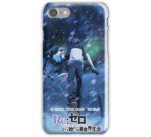Poster - Re Zero Kara Hajimeru Isekai Seikatsu iPhone Case/Skin
