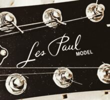 Gibson Guitar Headstock Photograph Sticker