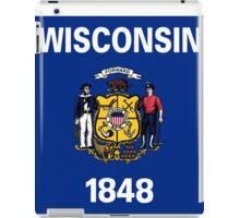 Wisconsin State Flag iPad Case/Skin