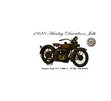 Vintage Motorcycle 03 Photographic Print