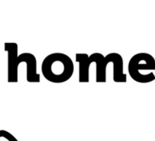 Wisconsin. Home.  Sticker