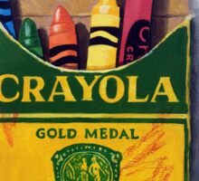 Box of Crayola Crayons painting Sticker