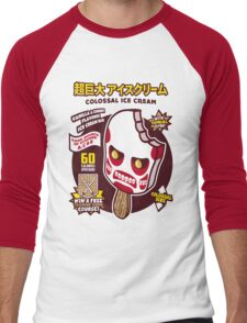 Colossal Ice Cream Men's Baseball ¾ T-Shirt
