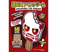 Colossal Ice Cream Photographic Print