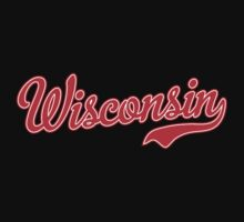 Wisconsin Script Red by USAswagg2