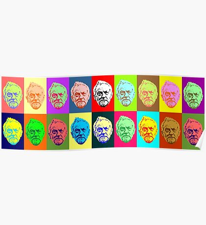 Colourful Corbyns Poster