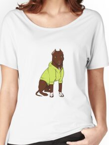 Bully in a Hoodie (Green) Women's Relaxed Fit T-Shirt