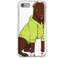 Bully in a Hoodie (Green) iPhone Case/Skin
