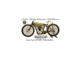 Vintage Motorcycle 05 Photographic Print