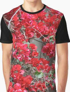 Red Bougainvilleas  Graphic T-Shirt