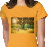 Rural reds and autumnal tones Womens Fitted T-Shirt