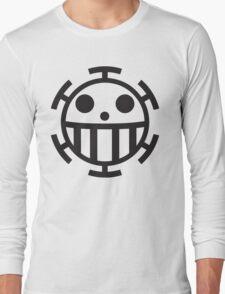 Heart Pirates Jolly Roger Long Sleeve T-Shirt