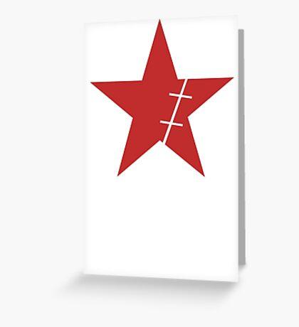 Zoro Crimin Star Greeting Card