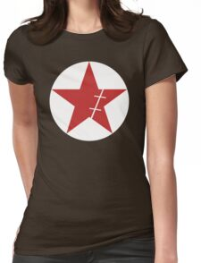Zoro Crimin Star Womens Fitted T-Shirt