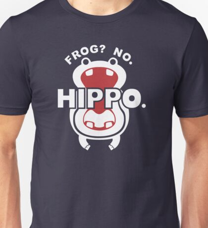 Frog?  No. Hippo. Unisex T-Shirt