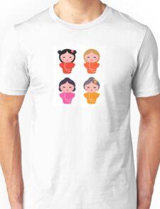 Colorful Geisha characters : original Artworks Unisex T-Shirt