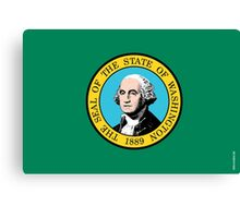 Washington State Flag Canvas Print