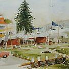Tamar Yacht Club by Muriel Sluce by Wendy Dyer