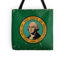 Washington State Flag VINTAGE Tote Bag